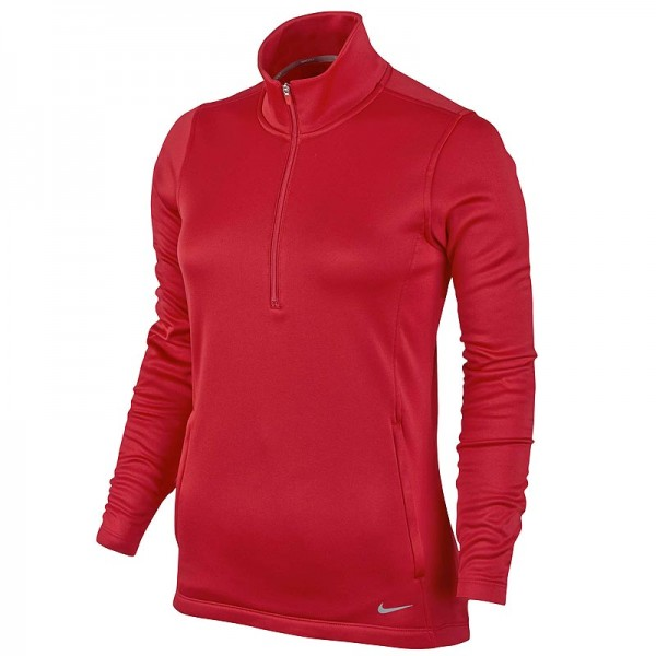 Nike Damen Thermal Half-Zip Pullover University Rot