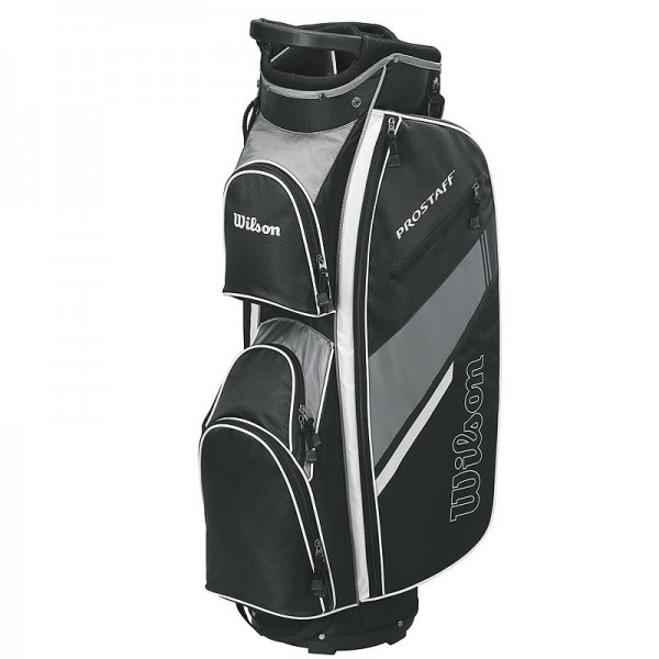 Wilson Pro Staff Golf Cart Bag schwarz/grau