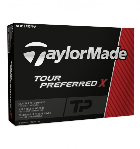 TaylorMade Tour Preferred TPX Golfbälle
