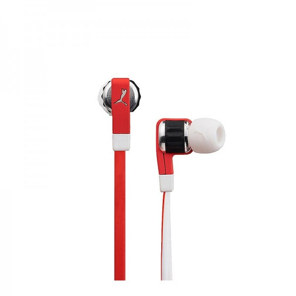 Puma El Diego In-Ear Headphones + Mikrofon rot