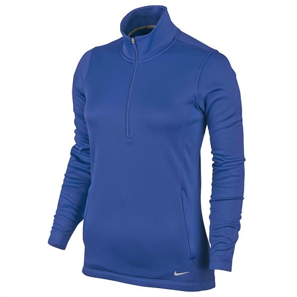 Nike Damen Thermal Half-Zip Pullover Royal Blau