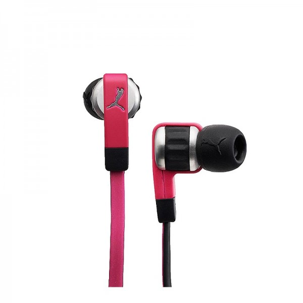 Puma El Diego In-Ear Headphones + Microfon pink