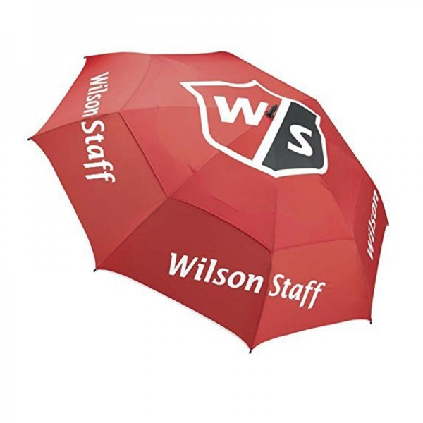 Wilson Staff Tour Golf Regenschirm rot