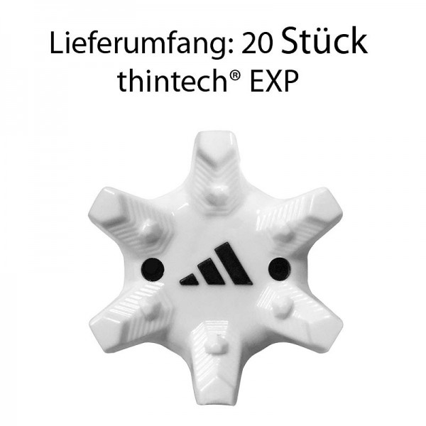 Adidas Thin Tech EXP 20 Spikes weiß